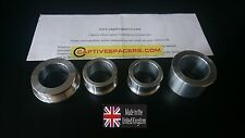 KAWASAKI ZX10R 2016  Captive race wheel Spacers. Full set. 100% UK made.