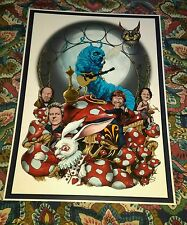 PHISH (NOT ALICE) IN WONDERLAND POSTER MUST SEE