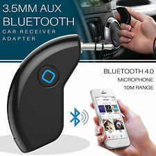 Bluetooth Music Receiver 4.0 AUTO RSI DONGLE BUILT-IN MIC AUDIO AUX 3.5 mm Adattatore