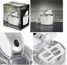 Pifco 1.2 Litre Ice Cream Maker, Frozen Yoghurt & Sorbet Machine