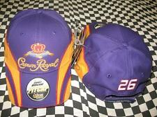Jamie McMurray #26 Crown Royal Pit 2007 NASCAR Hat by Chase Authentics! NWT! 27H