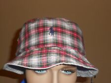 Polo Ralph Lauren bucket hat    Summer Reversible white  Small / Medium