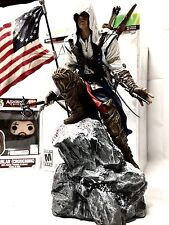 ASSASSINS CREED III 3 Limited Edition Connor Statue & Aguilar Funko POP