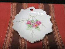 Hand Painted Decorative Dish Made in Japan - roses
