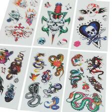 TATTOO stickers 14 Mix Funky designs for kids fun gifts & craft fun activity