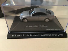 Herpa 2005 IAA Mercedes-Benz S-Class Silver Limited Edition Scale 1:87 (H0)