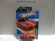 2011 Hot Wheels #116 Red Enzo Ferrari w/PR5 SPoke Wheels
