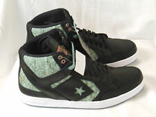 Converse Mens Weapon Mid Black Green White Sneakers 150404C Size 11