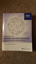 Essentials of Federal Income Taxation for Individuals and Business (2015) by...