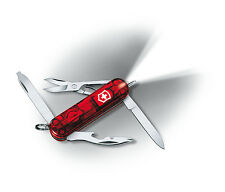 Victorinox Swiss Army Knife Midnite Manager - Ruby  - White LED Model 53756