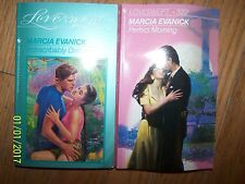 Lot 2 Marcia Evanick Romance soft cover Books in GREAT condition