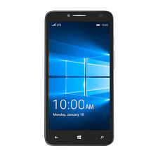 T-Mobile Alcatel OneTouch Fierce XL Windows 10 4G LTE 16GB Blue New
