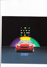Fiat preview brochure for Coupe, Cinquecento Sporting & Ulysse - 1994 - mint
