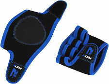 RDX Weight Lifting Grips Training Gym Straps Gloves Hand Wrist Support Hand TR