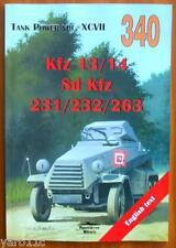 German armoured cars (6x4) - Kfz 13/14 Sd Kfz 231/232/263 -Militaria, ENGLISH