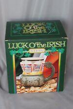 1994 Anheuser-Busch Budweiser St Pat's Luck O Irish Stein Ceramarte Brazil CS210