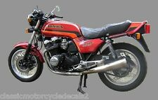 HONDA CB900FC RESTORATION DECAL SET RED MODEL