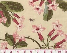 Overstock First Qualtiy Floral Braemore Textiles Drapery Fabric Blossom Frost
