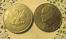 Commerative large/dollar size /heavy medal/Token /Army FCSV  #28