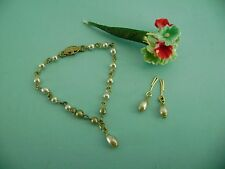 Vintage Madame Alexander Cissy & Elise Doll Jewelry Pearl Necklace Miss Revlon