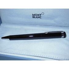 New Montblanc Heritage 1912 Capless Rollerball Pen Black/Platinum 112524 M25728