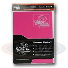 Monster Album Binder 9 Pocket Matte Pink with 20 Sideloading Pages