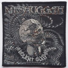 MESHUGGAH - Patch Aufnäher - Head The violent sleep 10x10cm