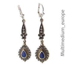 925 er Sterling Silber Ohrringe Lapis lazuli silver earrings Lapislazuli