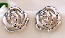 New Quality Fashion Novelty Rose Flower Stud Earrings