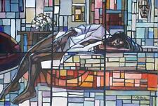"African American Black Art ""ENOUGH CHOCOLATE"" a Giclee' by Charly Palmer"