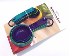 KitchenAid Multicolor Measuring Cups and Measuring Spoons Set NEW Free Shipping