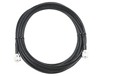 JSC RG-8X jumper, 30 FT with PL-259 connectors for HAM and CB, MADE IN USA!