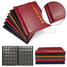 HOT 250 Pockets World Coin Album Book Case Collection Storage Holder Collecting