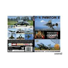 Airutopia's F4 F-4 Phantom II Military Aircraft Aviation DVD Video-New Sealed