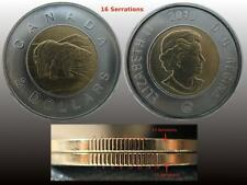 "2010 - $2 / Toonie - Polar Bear - "" 16 Serrations "" Variety - BU"