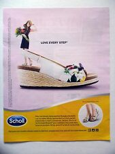 PUBLICITE-ADVERTISING :  SCHOLL Mindy  2016 Chaussures
