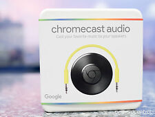 NUOVO Google cromecast AUDIO 2015 ULTIMA VERSIONE Music Streamer iPhone Samsung