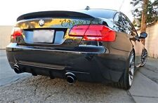 PAINTED BMW E92 2D COUPE A ROOF WING & HIGH PERFORMANCE TRUNK BOOT SPOILER 335i