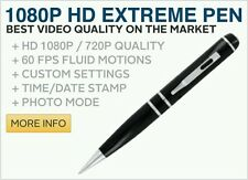 4 Hours Hidden HD Pen Camera With 1080p Vedio Recording And 32GB Memory Card Fre