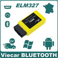 Interface de diagnostic Viecar BLUETOOTH ELM327 V1.5 Scanner PC Android OBD2 ELM