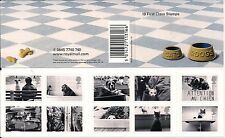 2001 GB QEII ROYAL MAIL 1ST CLASS STAMP BOOKLET CATS & DOGS SG 2187 - 2196 MNH