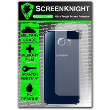 ScreenKnight Samsung Galaxy S6 Back SCREEN PROTECTOR invisible Military shield