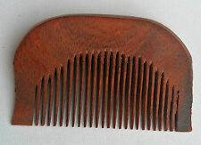 Sikh Kanga Khalsa Singh Premium Quality Curved Anti-Static Red Wooden Comb OS103