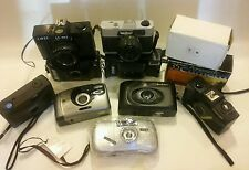 35mm CAMERA lot. 11 items. HORIZON Lavec panorama. Etc.