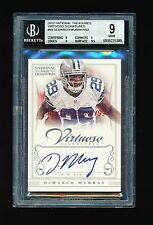 BGS 9 DEMARCO MURRAY 2012 PANINI NATIONAL TREASURES VIRTUOSO AUTO #D 08/50 MINT
