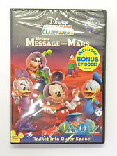 MICKEY MOUSE DISNEY CLUBHOUSE DVD - MESSAGE FROM MARS  - NEW - 20,000+ FEEDBACK*