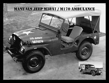 Jeep,Willy's M38A1,Manuals,Reparaturanleitung,M170 Ambulance,Maintenance,Willy's