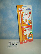NEW 2010 Playskool Mr Potato Head Tater 2 - Pack Spud Rummy + Match Game Cards