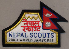 23rd world scout jamboree NEPAL SPECIAL Contingent bBadge 2015