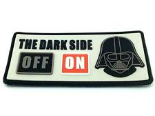 The Dark Side ON Darth Vader Star Wars Airsoft PVC Patch